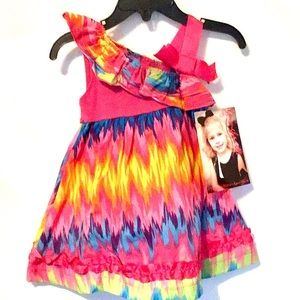 NWT Younghearts dress size 12M